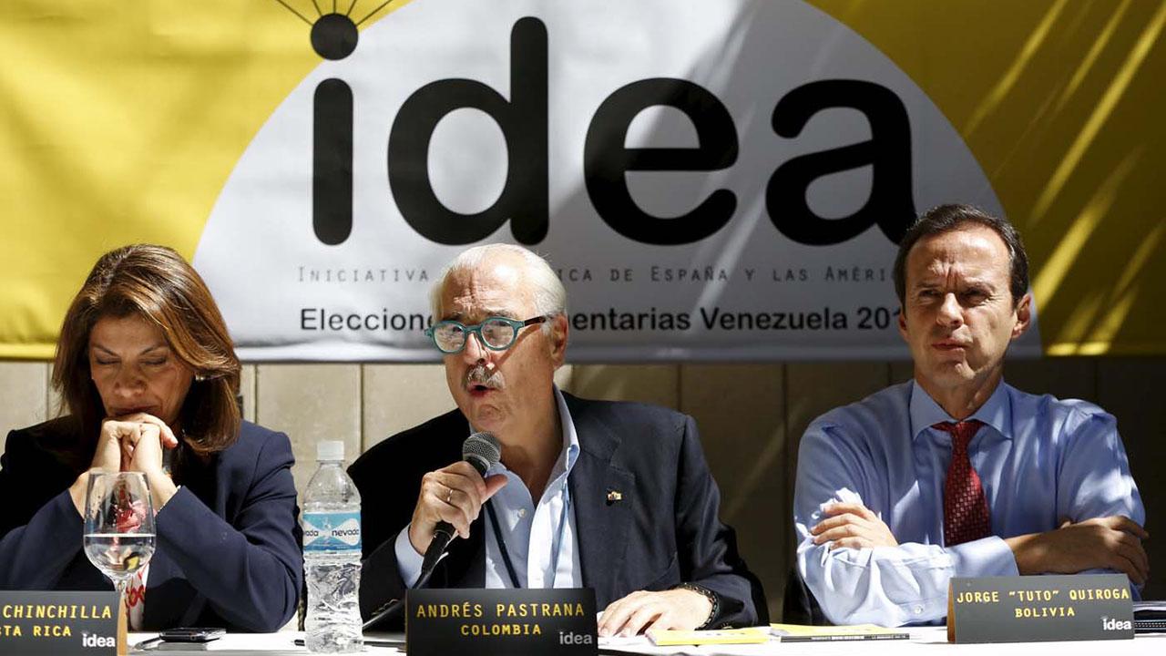 Jorge Quiroga, Andrés Pastrana, Laura Chinchilla y Miguel Ángel Rodríguez no podrán ingresar al país