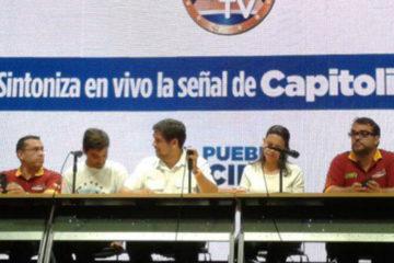 María Corina Machado y Carlos Ocariz resaltaron la operatividad de los puntos soberanos y celeridad para ofrecer resultados de la consulta