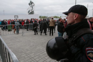 Luego del atentado suscitado en Barcelona (España), el Gobierno ruso decidió colocar barreras de hormigón en zonas de afluencia