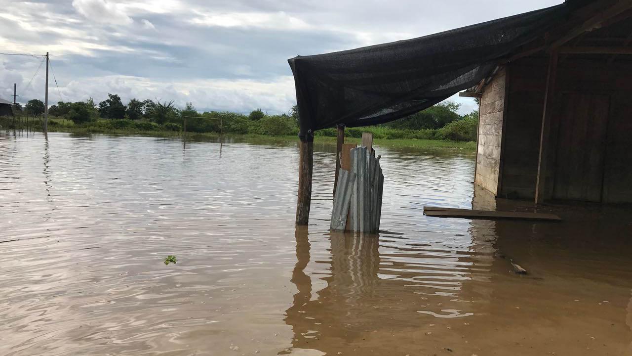 Río Orinoco mantiene en alerta a residentes de Ciudad Bolívar