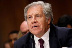 El Secretario General de la OEA espera que el encuentro se conserve sobre el presunto fraude electoral de la ANC