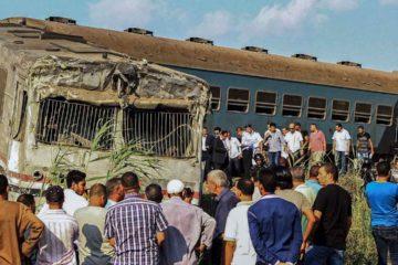 De acuerdo con las autoridades ambos trenes tenían como destino la ciudad de Alejandria lugar donde ocurrio la colision