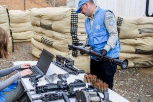 El grupo militar culmino la entrega de sus armas a la ONU tras la firma del acuerdo de paz con el Gobierno coolombiano y ocho meses que duro el proceso
