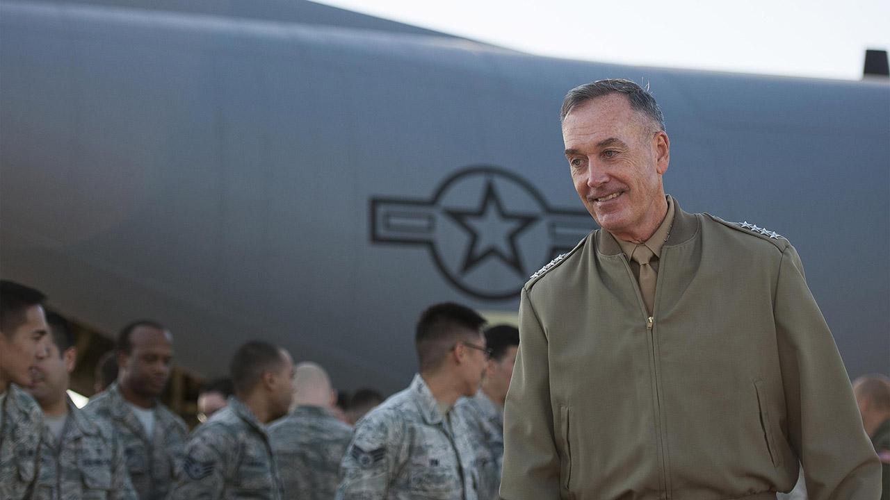 El jefe del Estado Mayor Conjunto de Estados Unidos el general Joseph Dunford reitero que la relacion entre ambos paises es solida