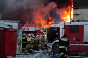 El Ministerio de Emergencias ruso tambien dio a conocer que 25 residencias se han calcinado a causa de las llamas en la ciudad de Rostov del Don