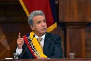 El presidente de Ecuador declaro por primera vez rechazando las muertes y la cantidad de presos políticos en el pais