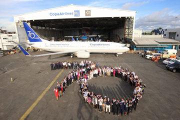 La aeronave llevaráun diseño emblemático en la cola y un mensaje en su fuselaje para conmemorar la trayectoria de la compañía en América