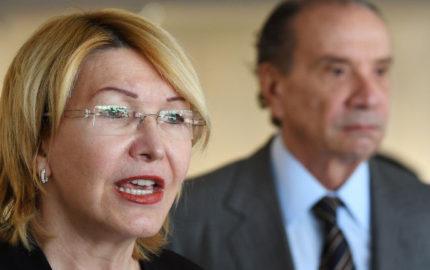 La exfuncionaria, buscada por las autoridades venezolanas, llegó este miércoles a Brasilia para participar en una reunión de fiscales