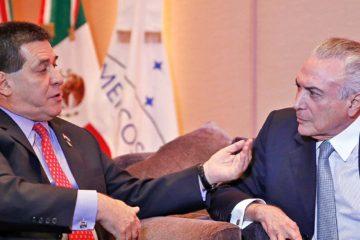 Los presidentes publicaron un comunicado en conjunto en el que reafirmaron su compromiso con la decisión de suspender a Venezuela del bloque de Mercosur