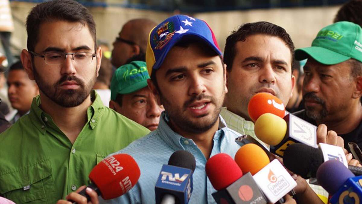 Robert García,presidente del Concejo Municipal de Chacao anunció que la cámara municipal designará al alcalde que finalizará la gestión de Muchacho