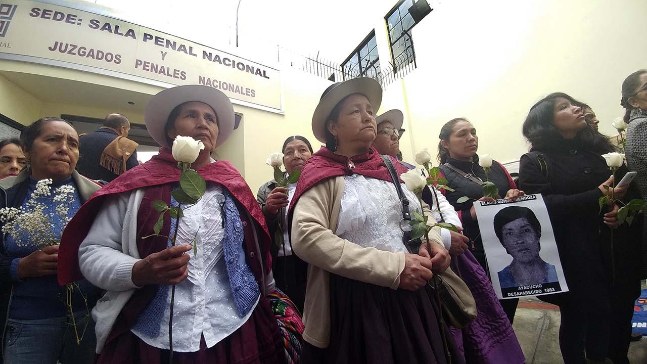 """En total eran siete los militares que fueron procesados en el conocido caso """"Los Cabitos"""", pero uno murió durante el juicio, que comenzó en 2005 en Ayacucho"""