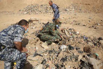Las autoridades señalaron que los cuerpos son de nueve hombres y una mujer; asimismo se reportó que tienen un avanzado estado de descomposición