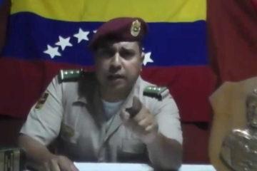 El capitán de la Guardia Nacional Bolivariana es buscado por comandar el asalto al Fuerte Paramacay el pasado 6 de agosto