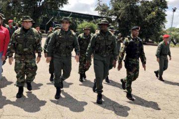 Vladimir Padrino López, ministro de la Defensa, fue el encargado de liderar la instalación de la 99 Brigada de Fuerzas Especiales