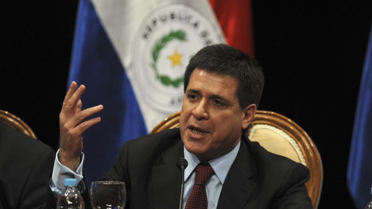 El mandatario paraguayo habló de la situación política y humanitaria por la que pasa actualmente el país