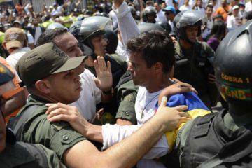 El dirigente fue puesto bajo detención domiciliaria el 8 de julio, luego de pasar tres años y cinco meses en la cárcel militar de Ramo Verde