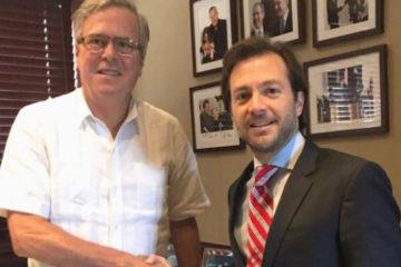 El alcalde destituido, sentenciado a 15 meses de cárcel, resaltóel apoyo de la comunidad internacional al pueblo Venezolano