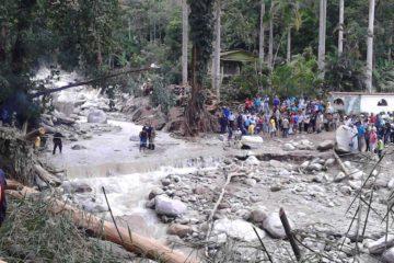 Actualmente, el paso a la zona se encuentra restringido por lo que sólo estápermitido el acceso de insumos, medicamentos y alimentos para los habitantes