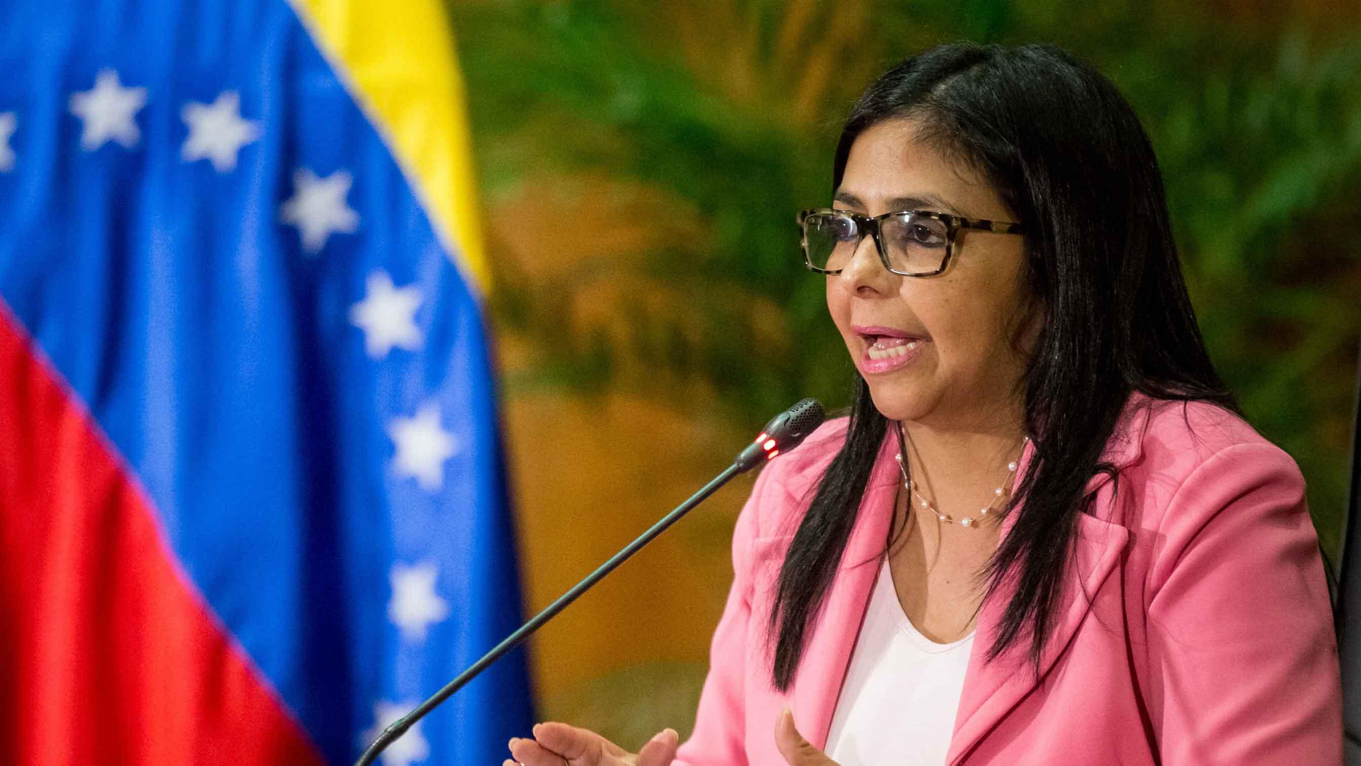 """La presidenta de la Asamblea Nacional Constituyente """"culpó"""" a los lideres de la oposición asegurando que """"buscan perjudicar al pueblo de Venezuela"""""""