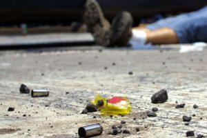 Los ladrones le proporcionaron un disparo en el costado derecho deRoyber Bautista, un carpintero de 20 años de edad