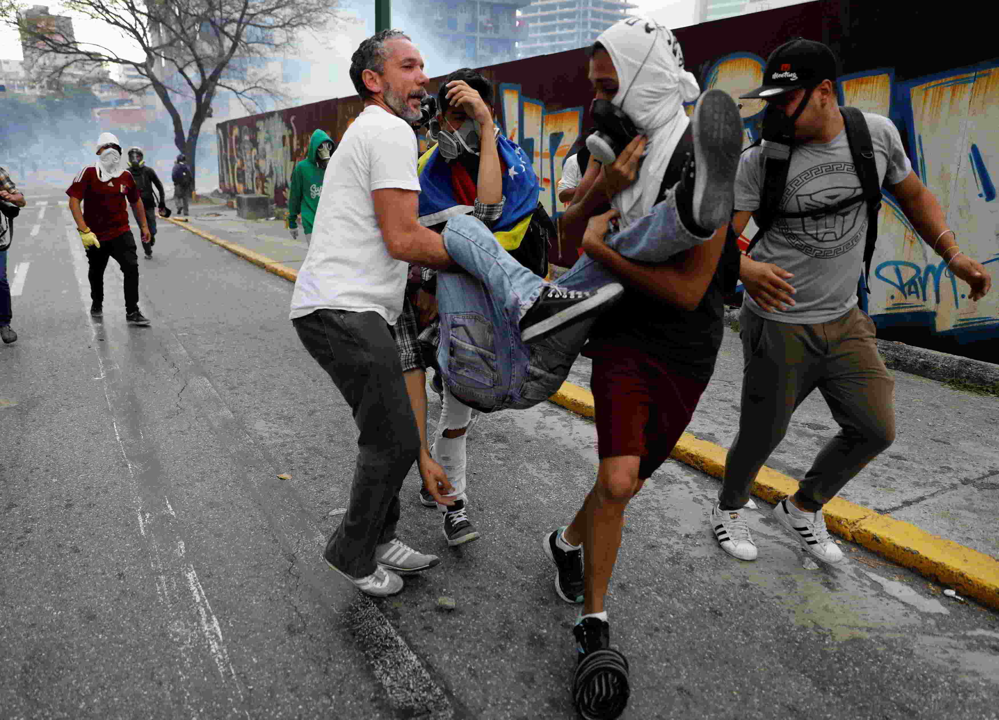 Parlamentario venezolano habla de las muertes en medio de las manifestaciones