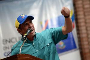 Capriles criticó las elecciones regionales