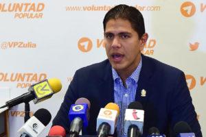 El dirigente de Voluntad Popular fue recibido por Luis Almagro, quien consignará las denuncias en la Corte Penal Internacional