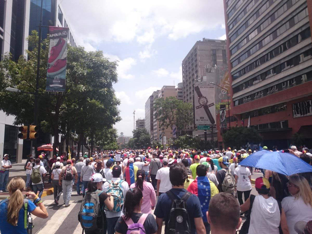 Venezolanos se movilizaron en respaldo a los distintos alcaldes del país que han sido destituidos de sus cargos