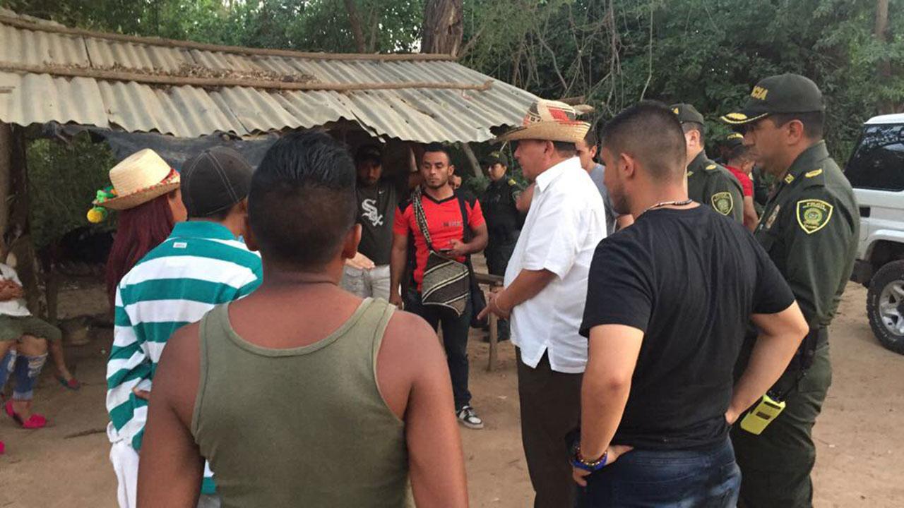 El Gobernador de La Guaijra (Colombia) responsabilizó a los castrenses venezolanos de cometer actos delictivos en la localidad fronteriza