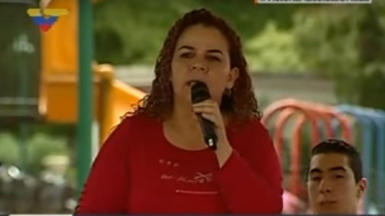 Durante una intervención en una asamblea consultiva, la constituyentista culpó al ex ministro de Justicia, Interior y Paz