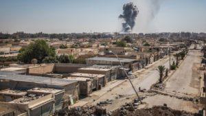 La ciudad de Al Raqqa, en Siria, es uno de los bastiones de la milicia terrorista