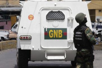 Abatidos cinco sujetos que pretendían escaparse de la GNB en Caricuao