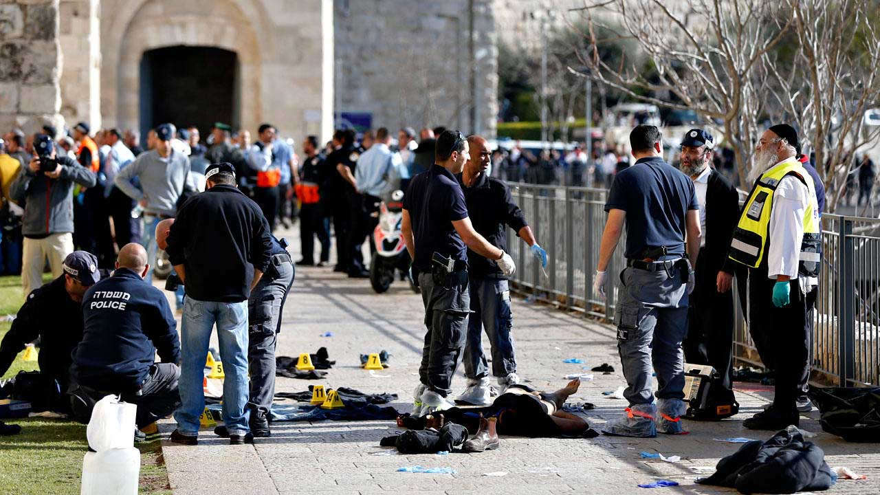 El hombre de 37 años, abatido luego por la policia llego al asentamiento judio y disparo cuando los vigilantes procedieron a revisarlo