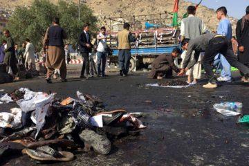 El kamikaze se hizo explotar luego de ser identificado por las autoridades cerca de una mezquita chiita en la capital afgana