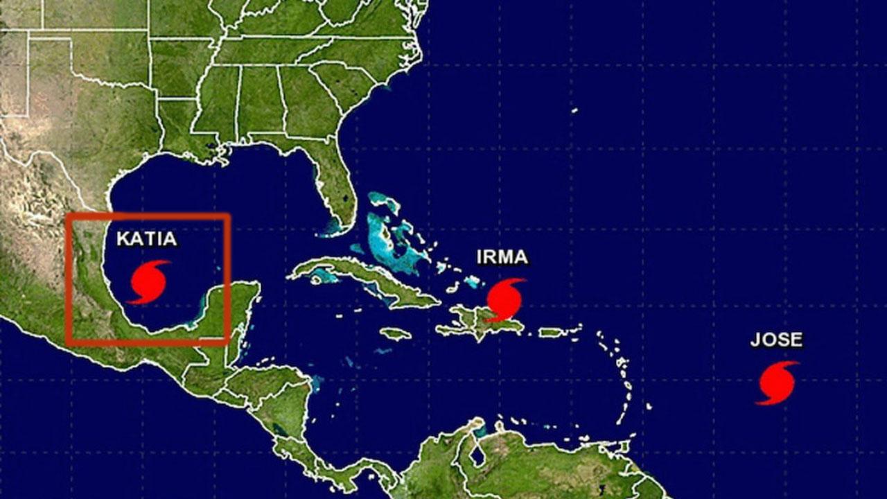 El Centro Nacional de Huracanes de EEUU informo que luego de tocar tierra podria tomar mas fuerza luego de tocar tierra