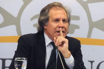 """Almagro aseguró que fueron """"malinterpretadas"""" sus palabras sobre Venezuela"""