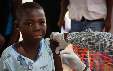 Dominique Legros responsable del padecimiento por el ente internacional expreso que el objetivo es inmunizar a 900 mil personas