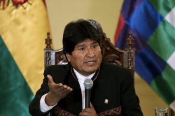 El presidente de Bolivia envió el mensaje a Venezuela, mediante su cuenta de Twitter