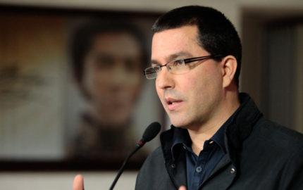 El canciller venezolano rechazó que la administración costarricense haya desconocido los resultados de los comicios del pasado 15 de octubre