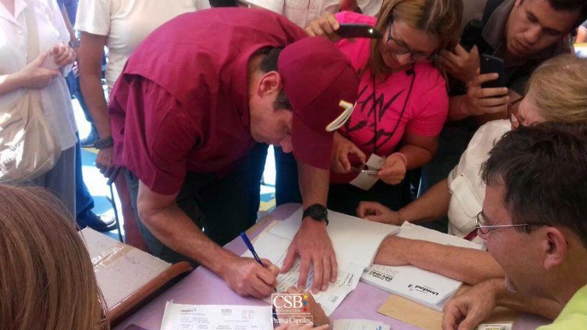 El gobernador del estado Miranda señaló que dichas elecciones muestran la voluntad que tienen los venezolanos de trabajar por el país