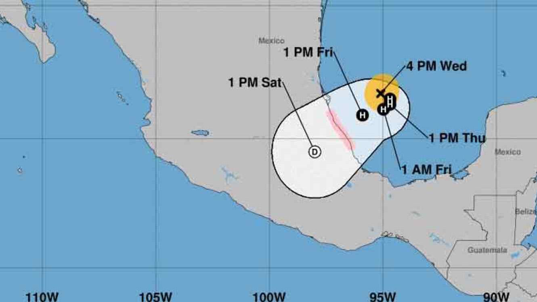 Miguel Ángel Yunes, Gobernador de Veracruz, dijo que según los pronósticos las fuertes precipitaciones se mantendrán en Veracruz