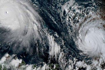 Se espera que el ciclón, cuya intensidad aumentó a nivel 4, pase este sábado por la noche a 100 km al norte de San Martín, ya destruida al 95% por Irma