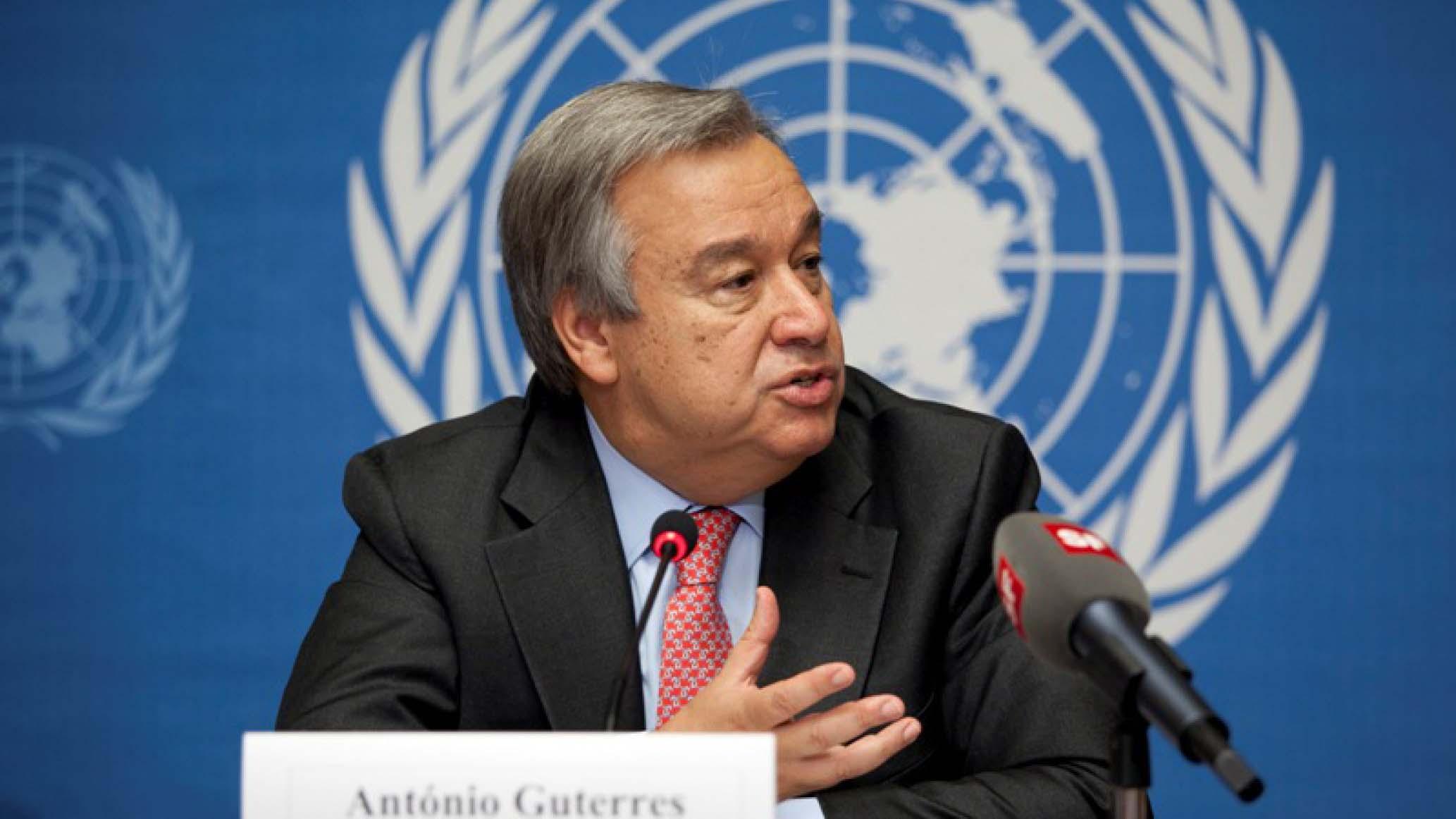 El secretario general de la ONU pidió a los responsables de las distintas partes apegarse a la constitución del país