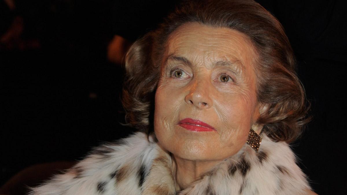 """Françoise Bettencourt Meyers, su hija, difundió en un comunicado que la mujer falleció en su domicilio y """"se fue en paz"""".Hubiera cumplido 95 años el 21 de octubre"""