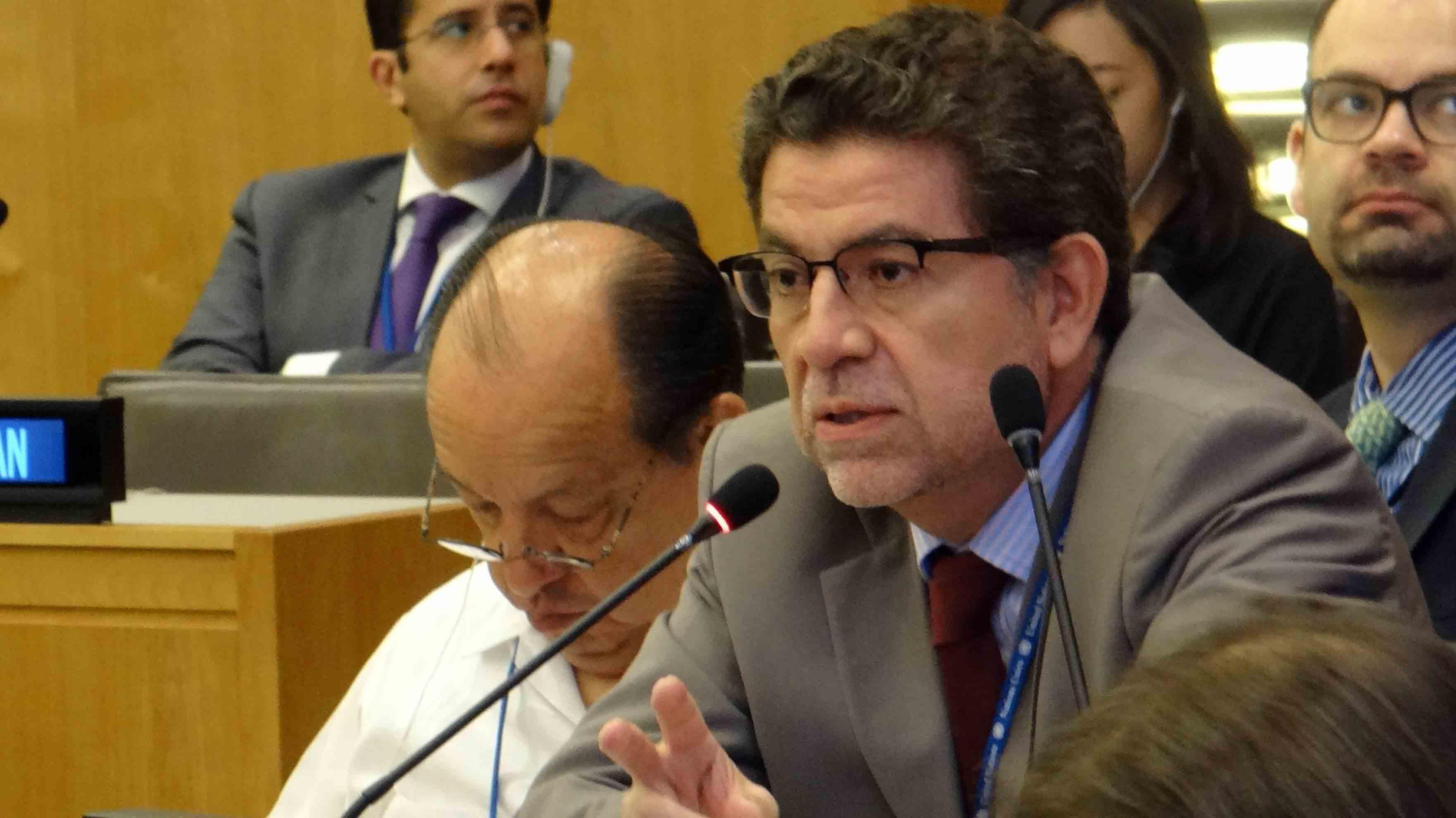 """Gustavo Meza-Cuadra, jefe de la delegación peruana ante la ONU manifestó que de llevarse a cabo un diálogo debe ser """"con objetivos claros"""""""