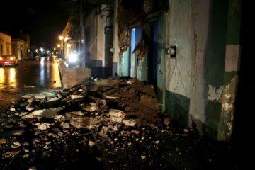 Murat elevó la cifra de muertos en Oaxaca de 46 a 71. Otras 15 personas murieron en Chiapas y cuatro más en Tabasco
