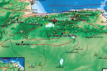 El evento sismológico tuvo una profundidad de 5 kilómetros y ocurrió aproximadamente a las 5 y 50 de la madrugada