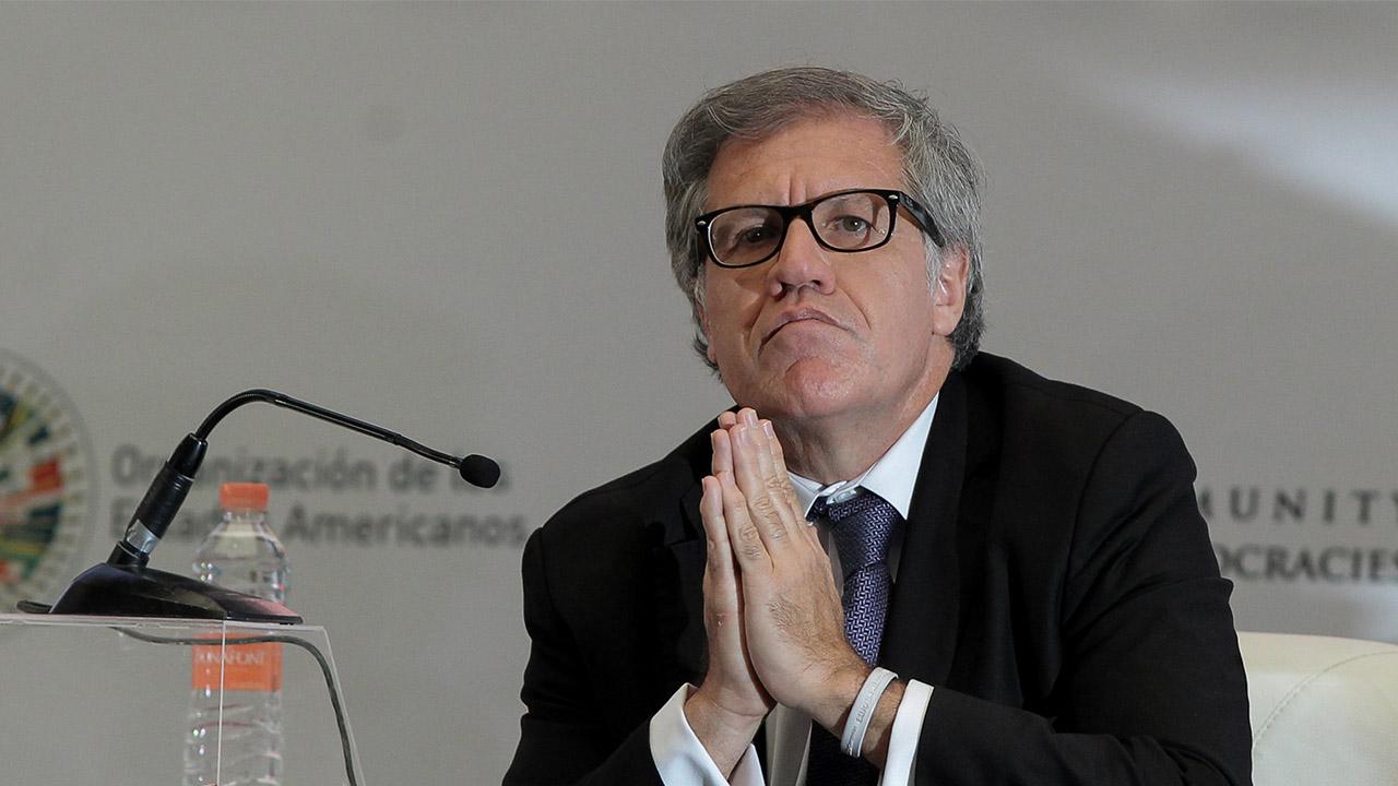 """El secretario general de la OEA aseguró que se repitieron """"las mismas variables de ilegalidad, incertidumbre y fraude"""""""