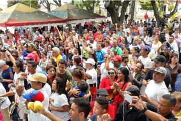 Este viernes 1 de septiembre, se realizó el juramento en Sucre, Monagas y Zulia para apoyar a los candidatos oficialistas