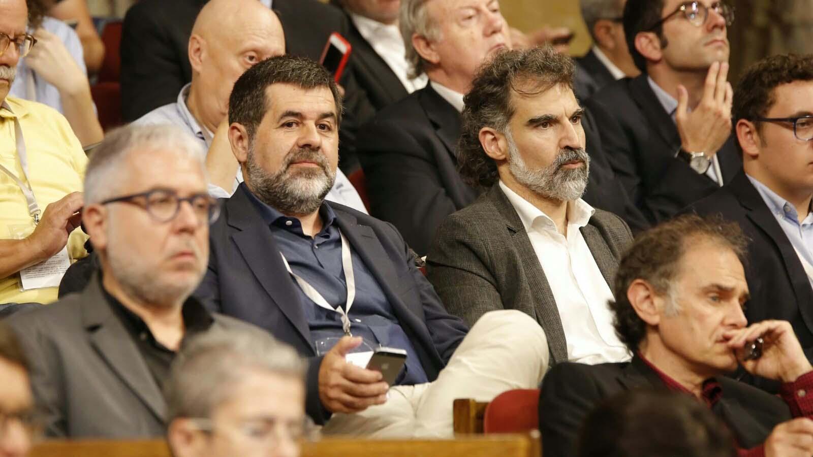 Jordi Sànchez y Jordi Cuixart obtuvieron detención provisional sin fianza por el presunto delito de sedición en relación al proceso separatista catalán